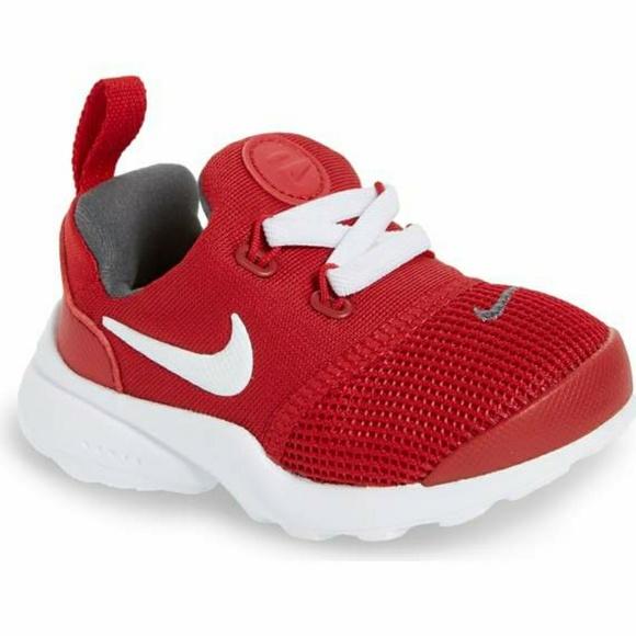 d8731e0e25c0 Baby Presto Fly GS Sneaker Red NEW 4C